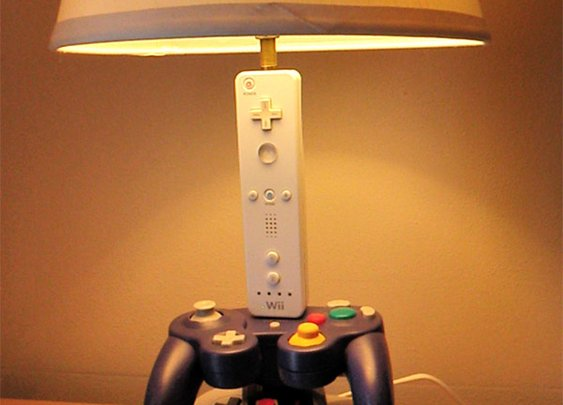 Nintendo Controller Desk Lamp