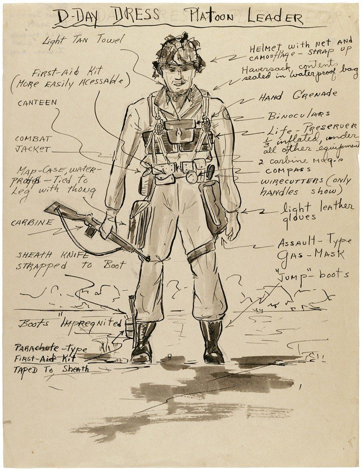 What a Platoon Leader Wore to on D-Day