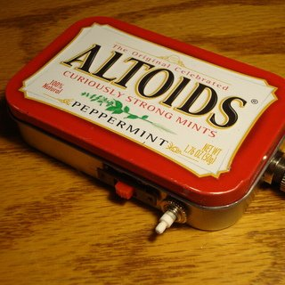 Make a POWERFUL BURNING Laser with an Altoids Tin