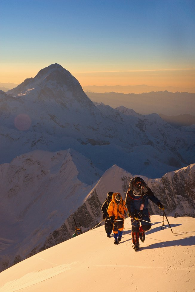 Slide Show: Jimmy Chin and Conrad Anker's Photographs of Everest : The New Yorker