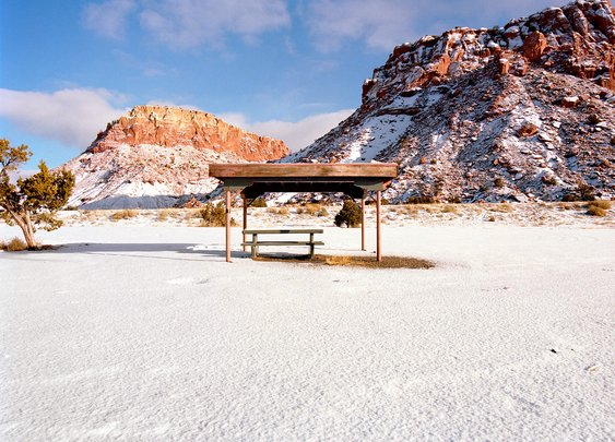A Disappearing American Original: The Roadside Rest Area
