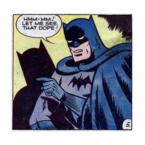 Batman get'n loose