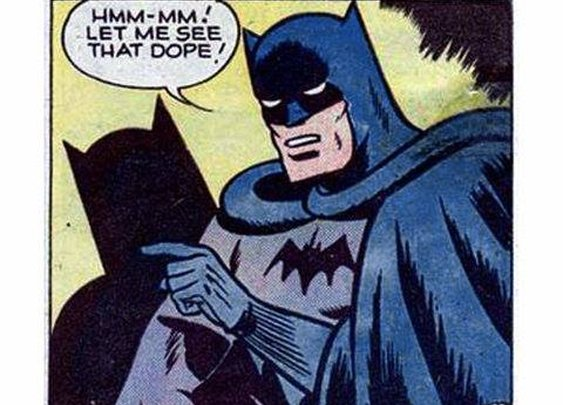 Batman get'n loose