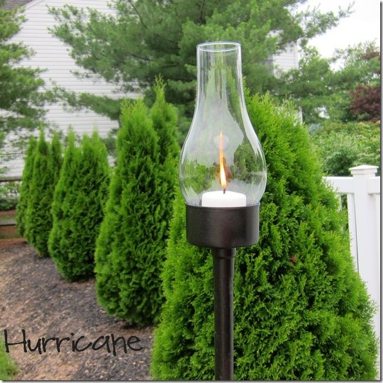 DIY How to make an Outdoor Candle Lantern