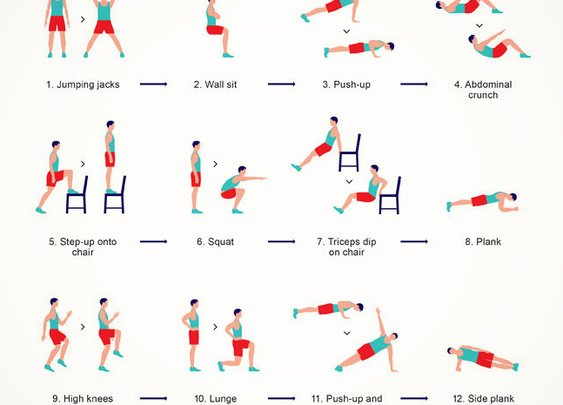 The Scientific 7-Minute Workout Doesn't Require Equipment | Cool Material