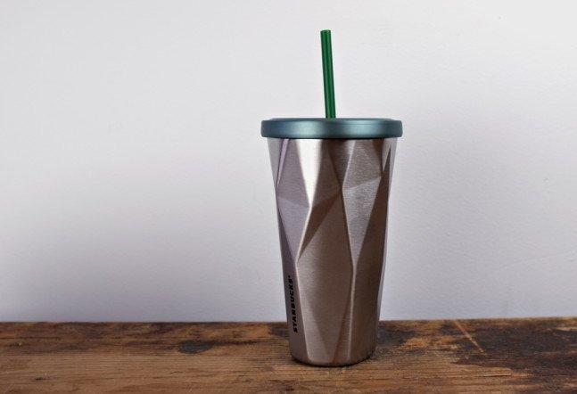 Starbucks Stainless Steel Chiseled Tumbler | Cool Material