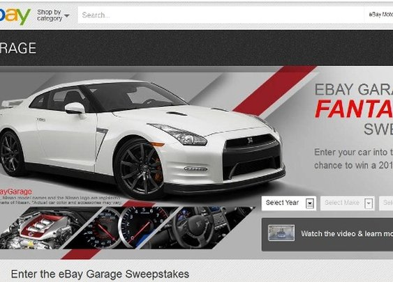 Create Account on eBay and Get Nissan GT-R Free!   NSTAutomotive
