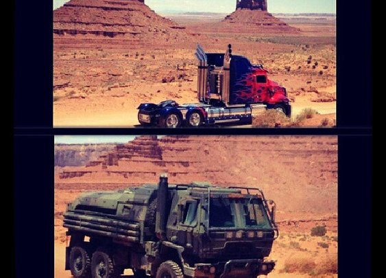 New Transformers 4 Set Images Featuring New Vehicles - Transformers News - TFW2005