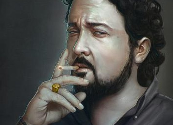 The smoker by lucirgo | Screensuit - Online Art Gallery