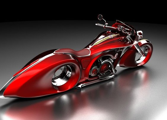 Cars And Motorcycles Of The Future   English Russia
