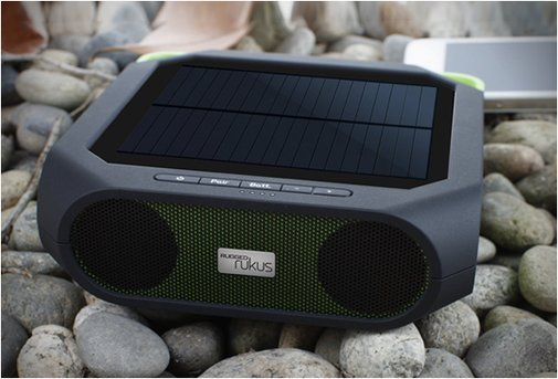 ETON RUGGED RUKUS -  all-terrain, portable, solar-powered, wireless sound system $99.00