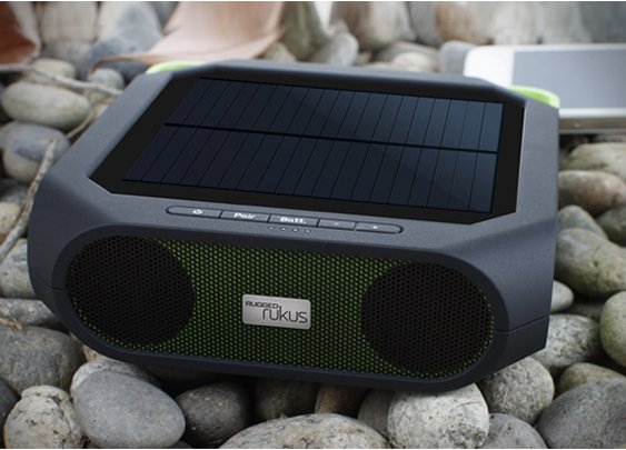 ETON RUGGED RUKUS -  all-terrain, portable, solar-powered, wireless sound system $99.00