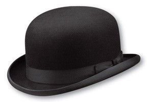 Christys' of London Hand Made Fur Felt Bowler Derby