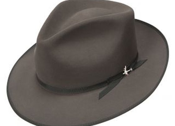 Stetson Fashion Collection 1940s Stratoliner Fur Felt Fedora Hat