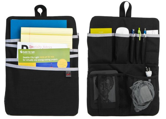 Organize your backpack vertically! Love this since I don't carry a briefcase but still need organization for my backpack and it handles cords! >>> gre