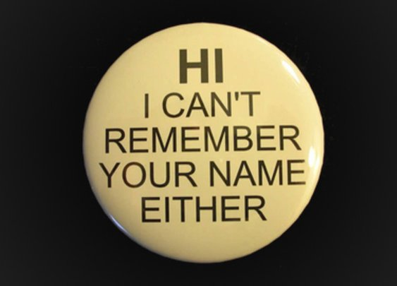 Noble Habits of a Gentleman: How to Remember Names