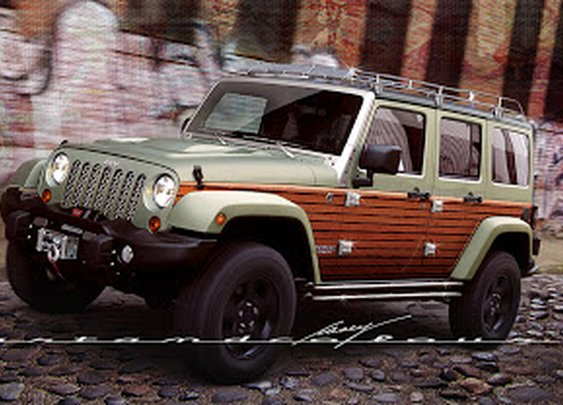 Wrangler 4-Door Woodsman Edition
