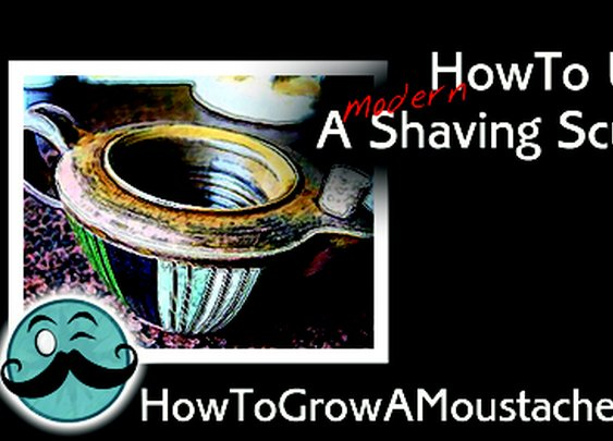 How To Use A Modern Shaving Scuttle | How to Grow a Moustache