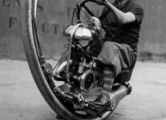 1930s: Monocycles