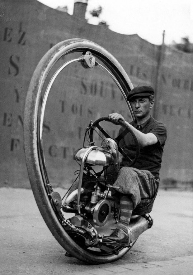 1930s: Monocycles