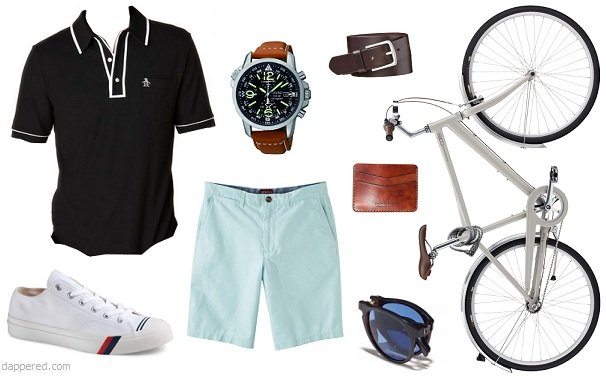 Style Scenario: Summer night bike pub crawl