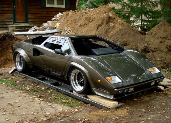 Man Builds a Lamborghini in His Basement