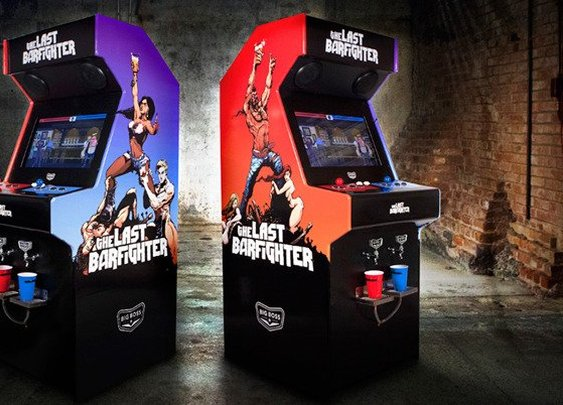The Last Barfighter: An Arcade Game That Pours You A Beer If You Win.
