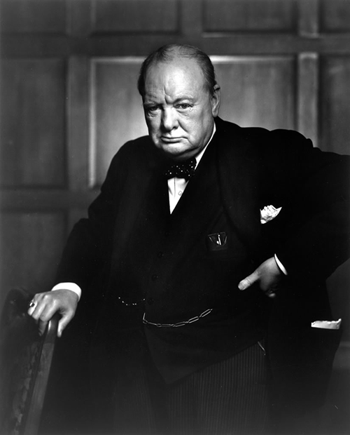 Motivational Posters: Winston Churchill Edition (Part I) | The Art of Manliness