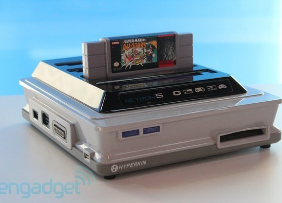 Hands-on with Hyperkin's Retron 5: emulating nine classic consoles