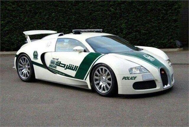 Dubai Police Fleet of Supercars | Bornrich