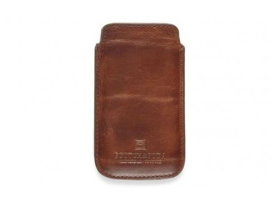 Scotch & Soda Heritage Leather Phone Cover for iPhone | Baxtton