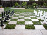 How to Create a Chessboard Patio
