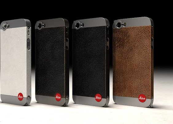 Leica-Inspired iPhone 5 case ~ Les Forges MDK