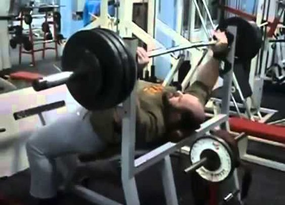 A different and unexpected incline bench press