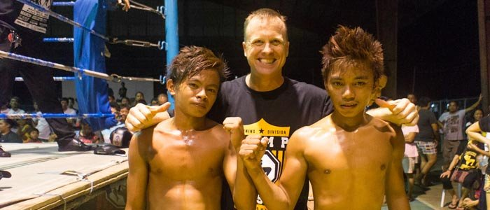 US martial arts coach sees potential in Pinoys