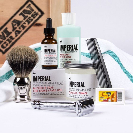 The Clean Shave Crate - Man Crates Store | Man Crates