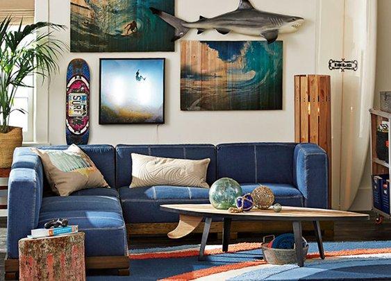 Cushy Lounge Super Sectional Set