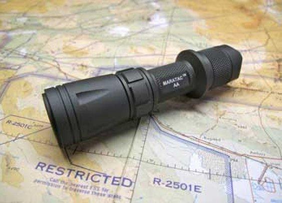 CountyComm - AA Tactical Maratac Flashlight