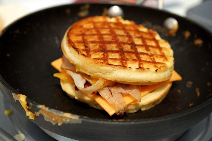 12 ways to craft the perfect waffle sandwich | Food Republic