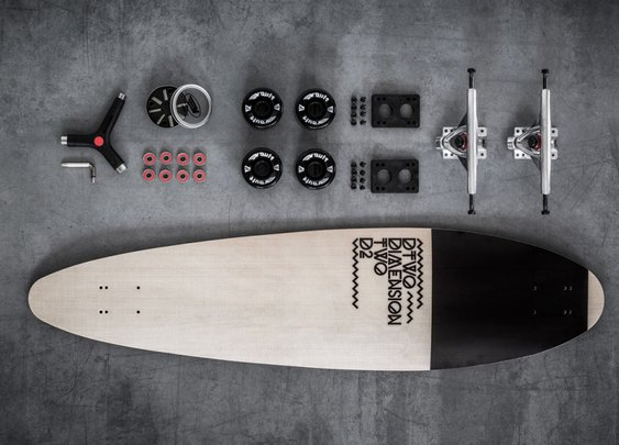 Dimension TWO Longboards: It's All About The Wood