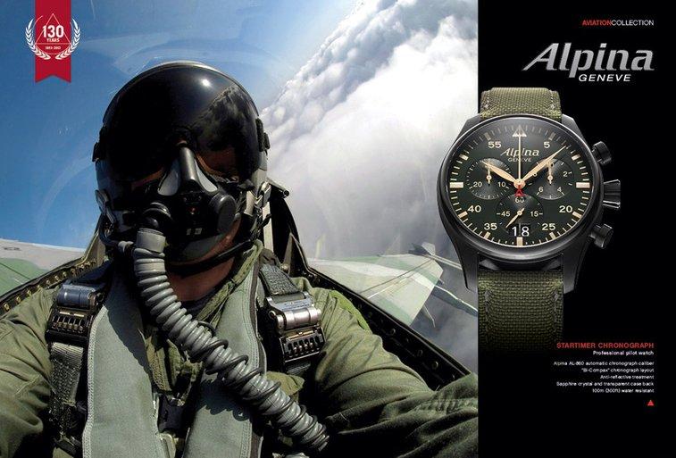 Alpina Startimer Chronograph Big Date
