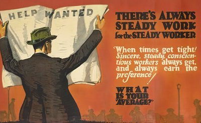 Vintage Business Motivational Posters from the 1920s & 1930s | The Art of Manliness