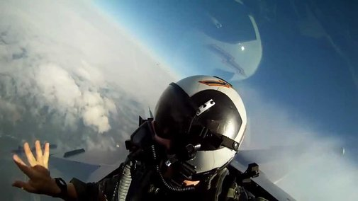F-18 GoPro onboard