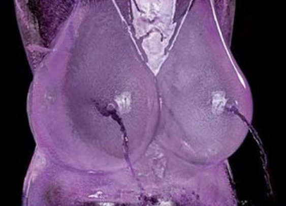 Female Breasts Ice Luge Mold