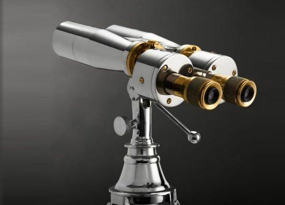 Restoration Hardware Standing Binoculars  | Baxtton
