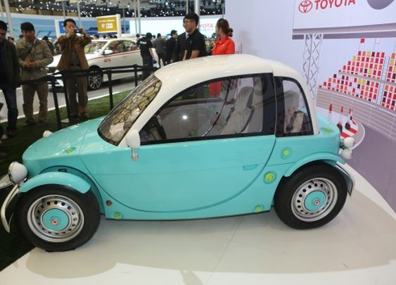 Toyota sports up its kids' car concept with the Camatte57 roadster