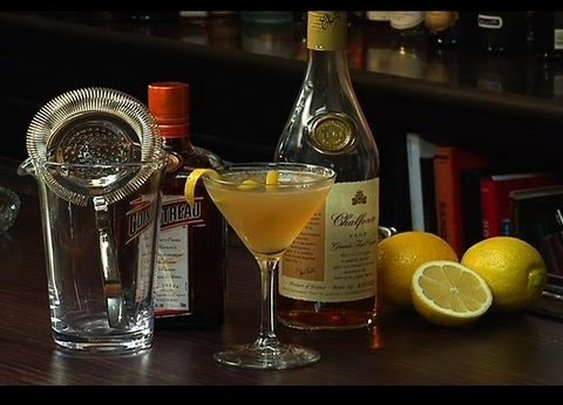 Sidecar Cocktail - The Cocktail Spirit with Robert Hess - Small Screen - YouTube