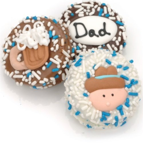 usa Chocolate  - Father's Day Chocolate Dipped Oreos®- Individually Wrapped