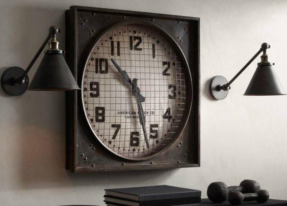 1940s Gymnasium Clock: Middle School Memories Sans Wedgies