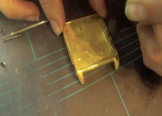Creating An 18K Gold iPod Wrist Watch - Video